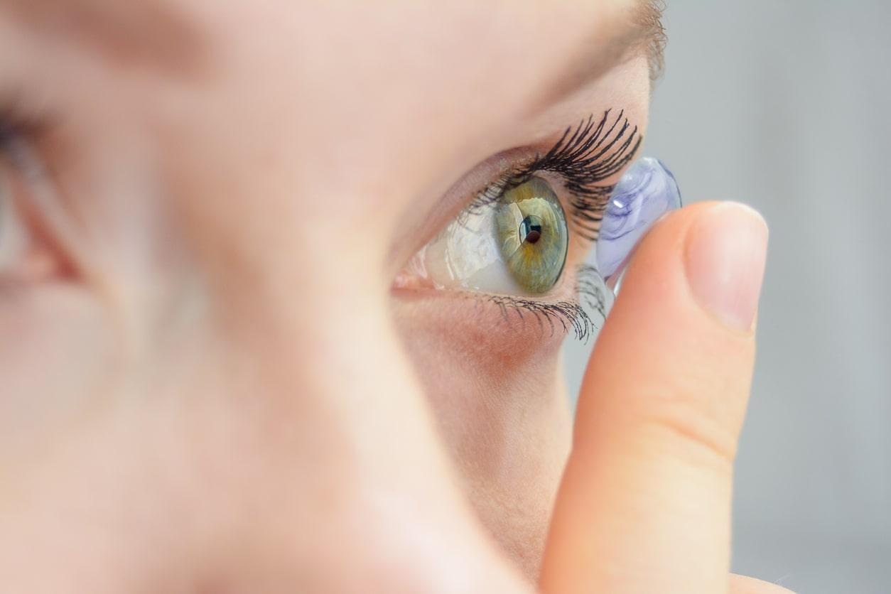 6 tipos de lentes de contato